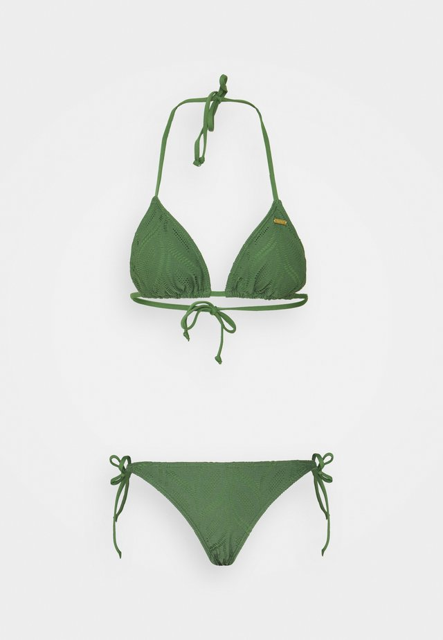 LOVE TITRI - Bikini - vineyard green