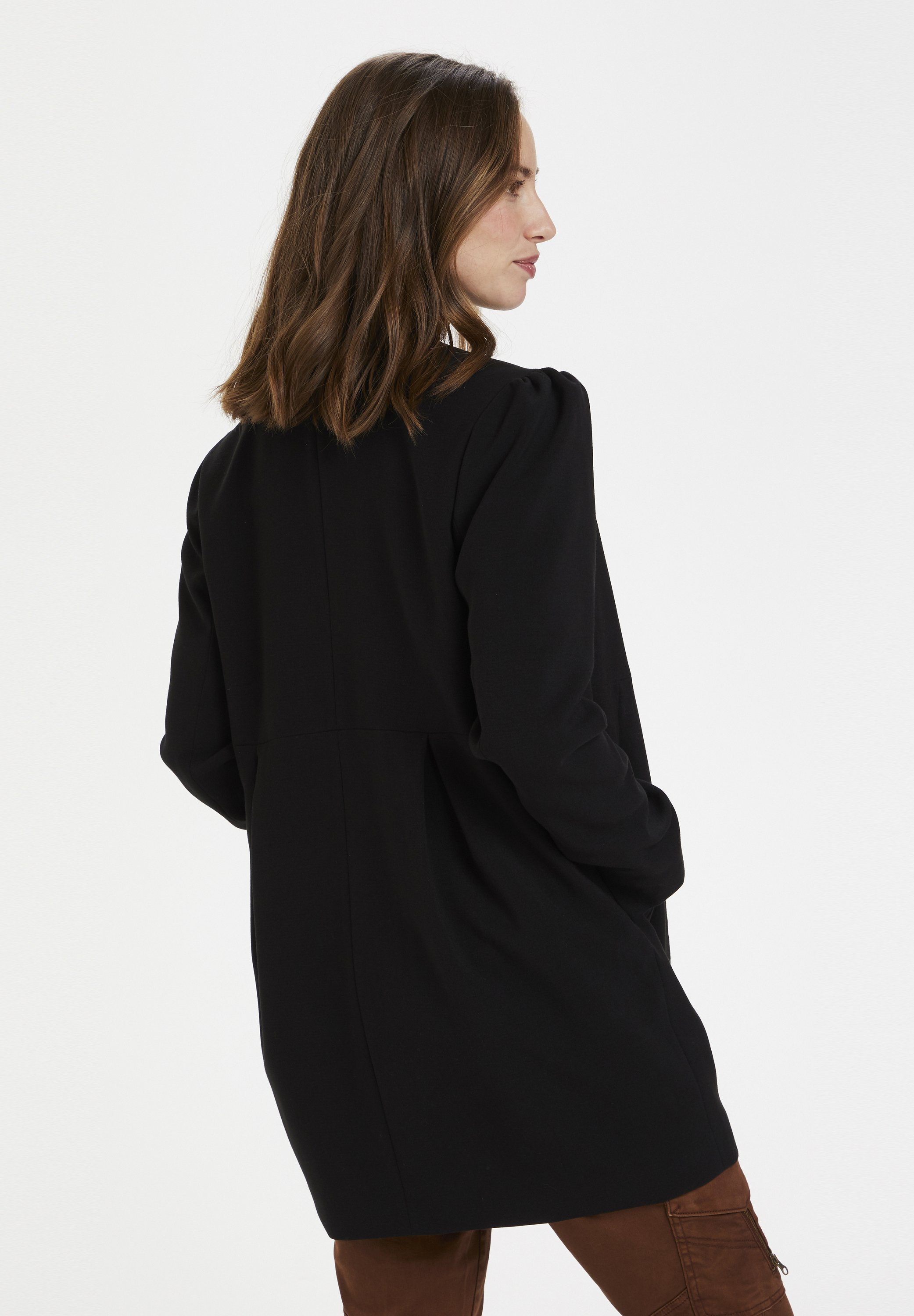 Culture CUELENORA  - Manteau court - black - Manteaux Femme K5PM4