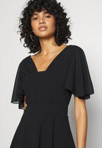 WAL G. - KYLA SKATER DRESS - Day dress - black - 4