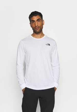 SIMPLE DOME TEE - Long sleeved top - white