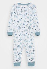 Joha - JUMPSUIT UNISEX - Pyjamas - light blue/offwhite - 1