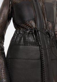 Uterqüe - 00665551 - Leather jacket - black - 5