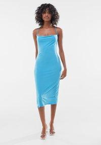 Bershka - Day dress - blue - 0