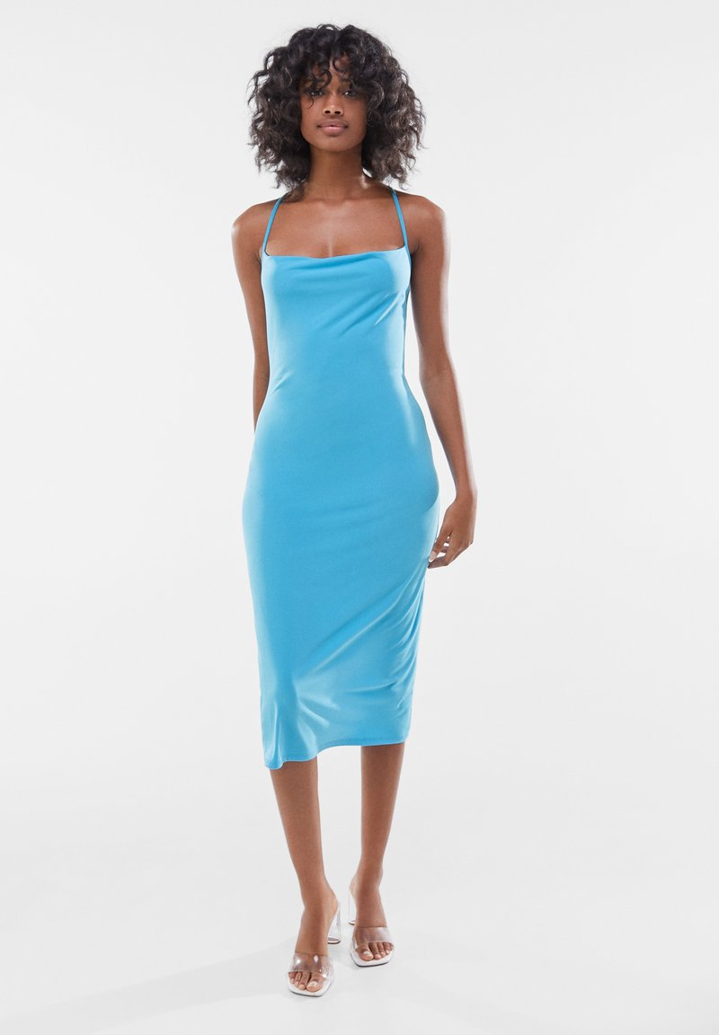 Bershka - Day dress - blue
