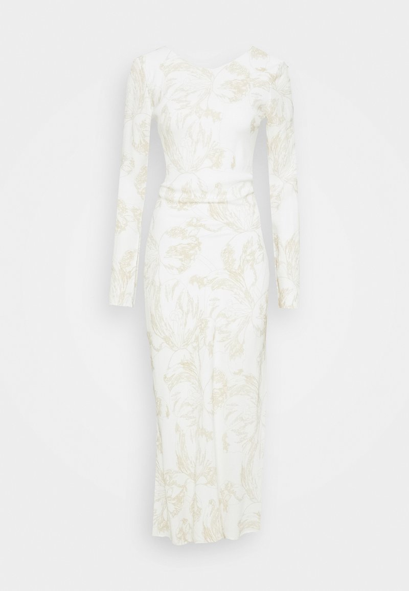 Third Form - BOUQUET BACK - Cocktail dress / Party dress - white/gold