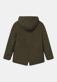 IKKS - 2-IN-1  - Zimní kabát - bronze/navy foncé - 1