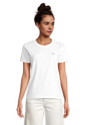 FLAMINGO - Print T-shirt - offwhite