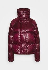 NAF NAF - BONUS - Down jacket - raisin - 4