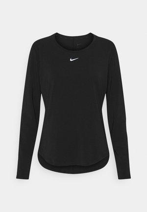 ONE LUXE - Maglietta a manica lunga - black/reflective silver