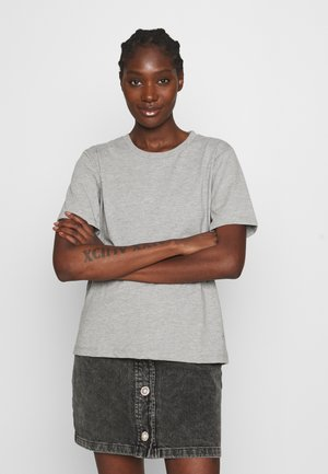 ROXIE TEE - Basic T-shirt - grey melange