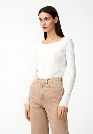 EVVAA  - T-shirt à manches longues - off white