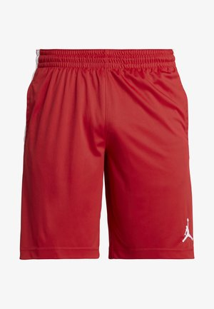 ALPHA DRY SHORT - Pantalón corto de deporte - gym red/white