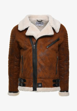PERFECTO - Summer jacket - brown