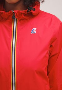 K-Way - LE VRAI CLAUDETTE - Waterproof jacket - red - 4