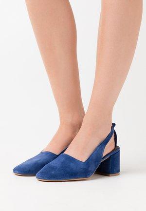 CHARLOTTE - Classic heels - blue