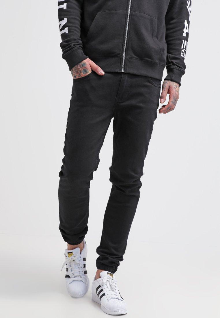 Pier One - Džíny Slim Fit - black