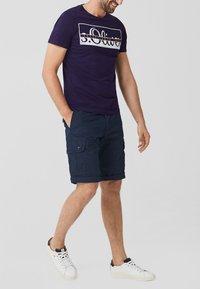 s.Oliver - Print T-shirt - purple - 5