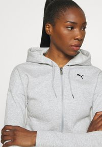 Puma - CLASSIC SUIT SET - Tracksuit - light gray heather - 5