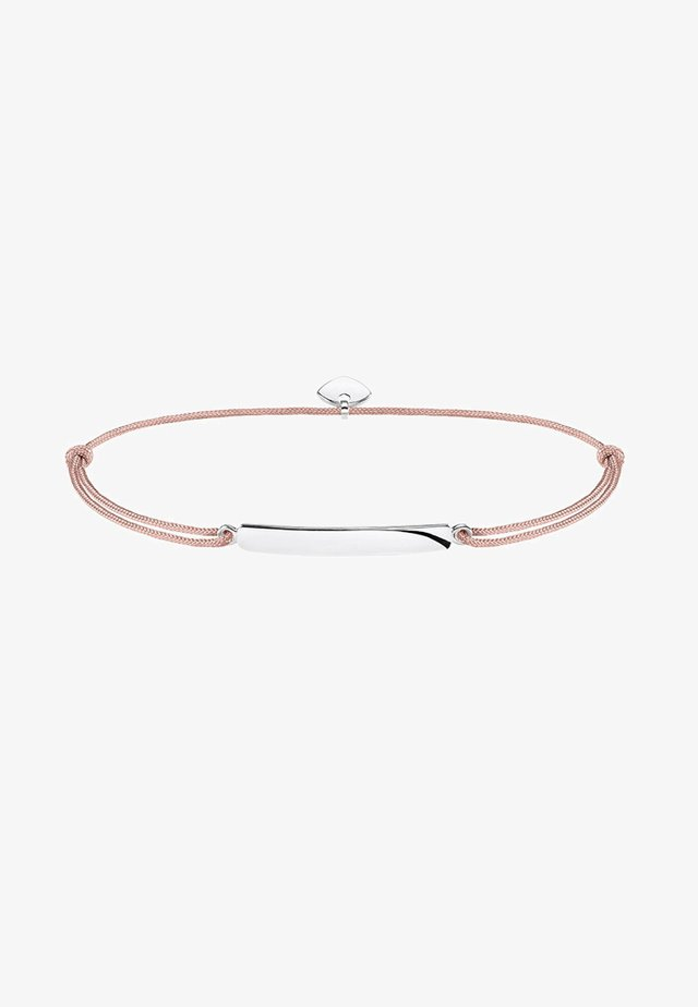 LITTLE SECRET CLASSIC - Armband - silver-coloured/beige