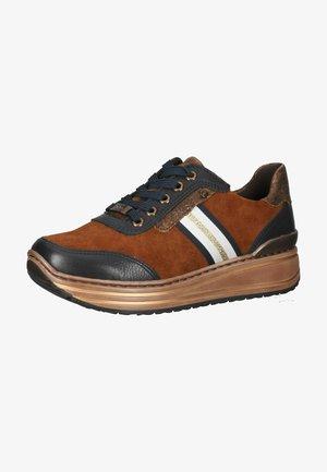 Sneakers basse - blau/nuts/cognac