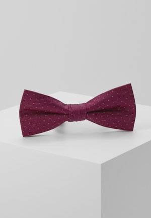 SHADOW DOT BOWTIE - Mucha - anthem red