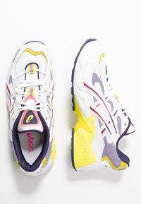 ASICS SportStyle - GEL KAYANO - Sneakers basse - white/purple matte - 5