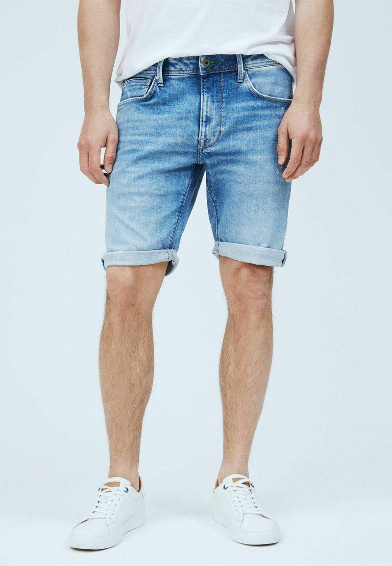 Pepe Jeans - Jeansshorts - denim