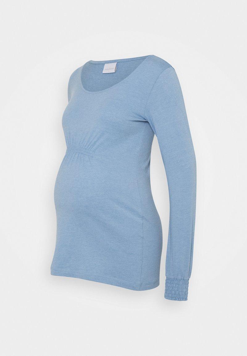 MAMALICIOUS - MLMINNA - Long sleeved top - allure melange