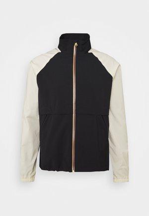 GENTS ZIP CASUAL JACKET - Summer jacket - black/beige