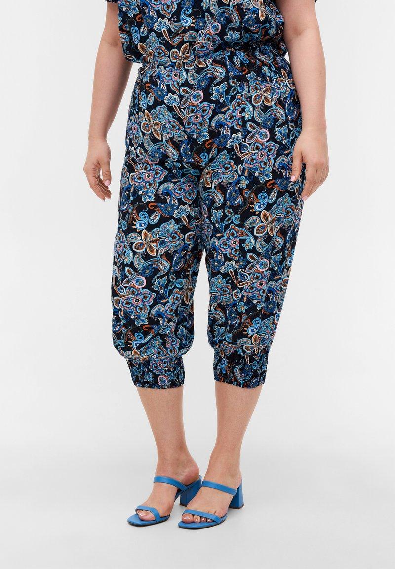 Zizzi - Shorts - paisley aop