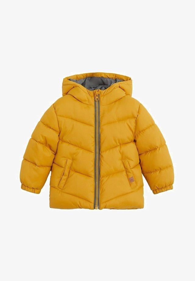 ALDO7 - Zimní bunda - hořčice