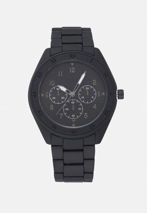 BRACELET LINK WATCH - Klokke - black