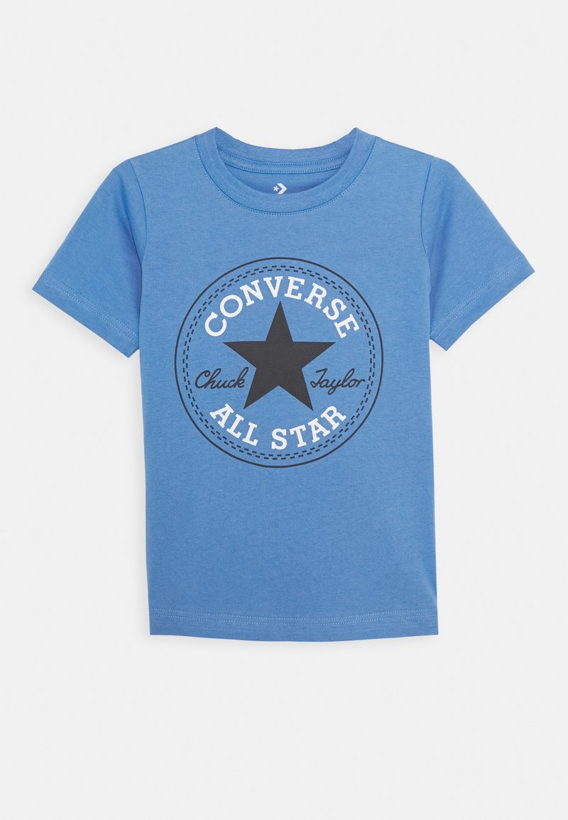 Converse - CORE CHUCK PATCH TEE  - Print T-shirt - coast