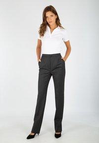 Armor lux - DISCO - Trousers - gris foncé - 0