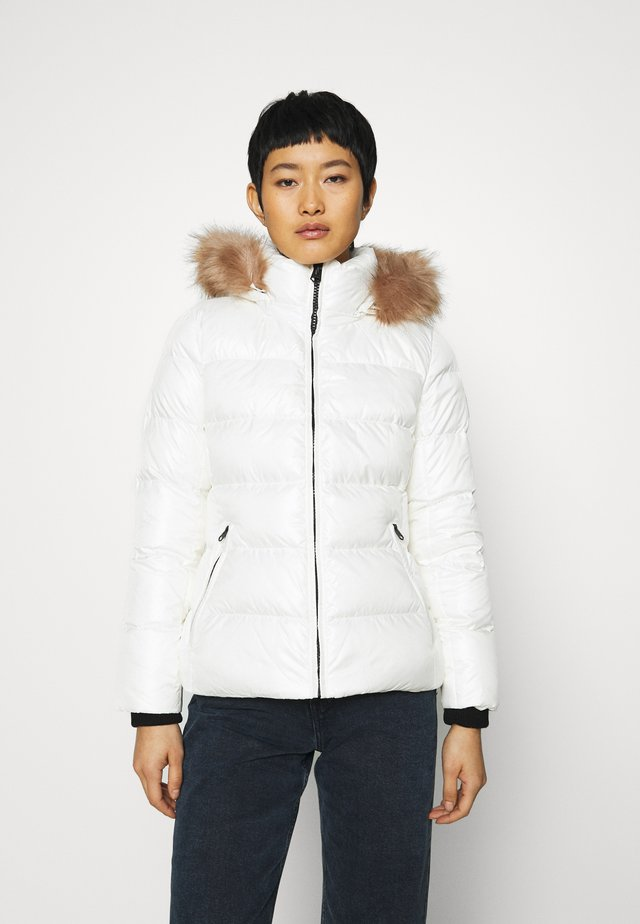 ESSENTIAL JACKET - Down jacket - snow white