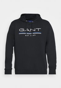 GANT - HOODIE - Sweatshirt - black - 4