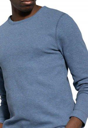 Long sleeved top - medium blue