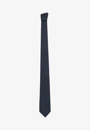 LINES - Krawatte - bleu marine foncé