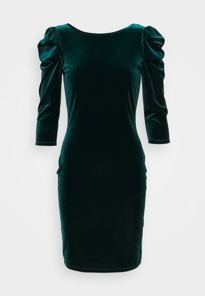 PUFF SLEEVE - Shift dress - green