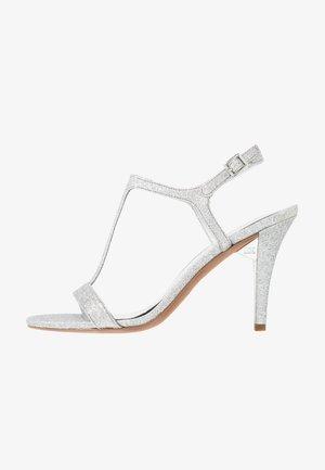 ARDEN  - High heeled sandals - silver