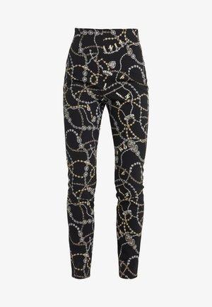 TENDERNESS PANTALONE GIOIE - Trousers - multinero/oro