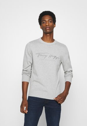 TONAL AUTOGRAPH - Pullover - grey