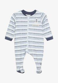 Jacky Baby - SCHLAFANZUG COUCOU MON PETIT - Pyžamo - blue - 2