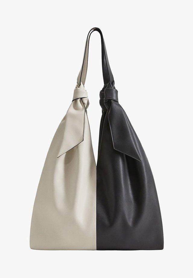 YIN - Tote bag - schwarz