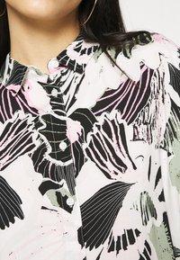 Monki - LUCA BLOUSE - Button-down blouse - white - 5