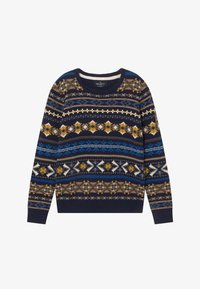 Hackett London - FAIRISLE CREW - Jumper - navy - 2