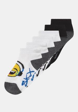 BOYS SEASONAL EMOJI SPACE 6 PACK - Socks - black