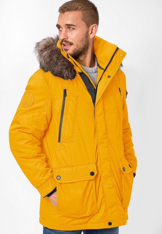 EDDY - Winter coat - yellow