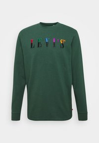 Levi's® - LS GRAPHIC MOCKNECK TEE UNISEX - Maglietta a manica lunga - ssnl serif ls sycamore - 0