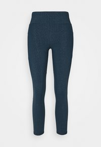 Sweaty Betty - GRAVITY 7/8 RUNNING LEGGINGS - Medias - beetle blue/glitter - 0
